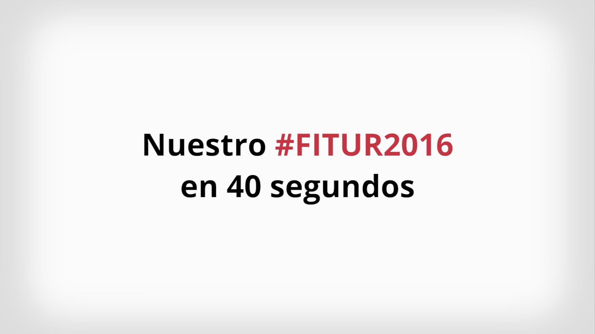 Turijobs en FITUR 2016