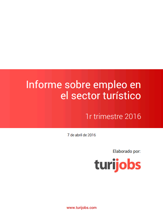 Crece un 8% la oferta de empleo en Turismo en el mes de marzo