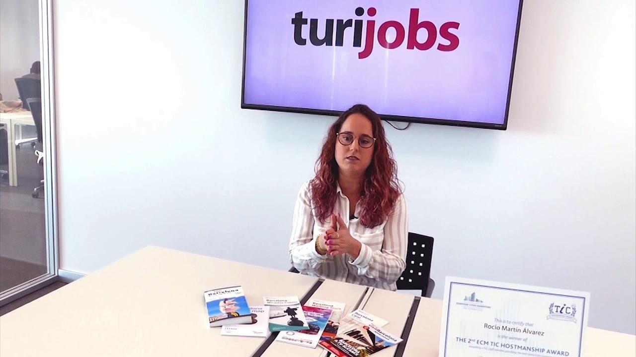 #TalentTalks con Rocío Martín, la informadora turística premiada por su actuación en el 17A